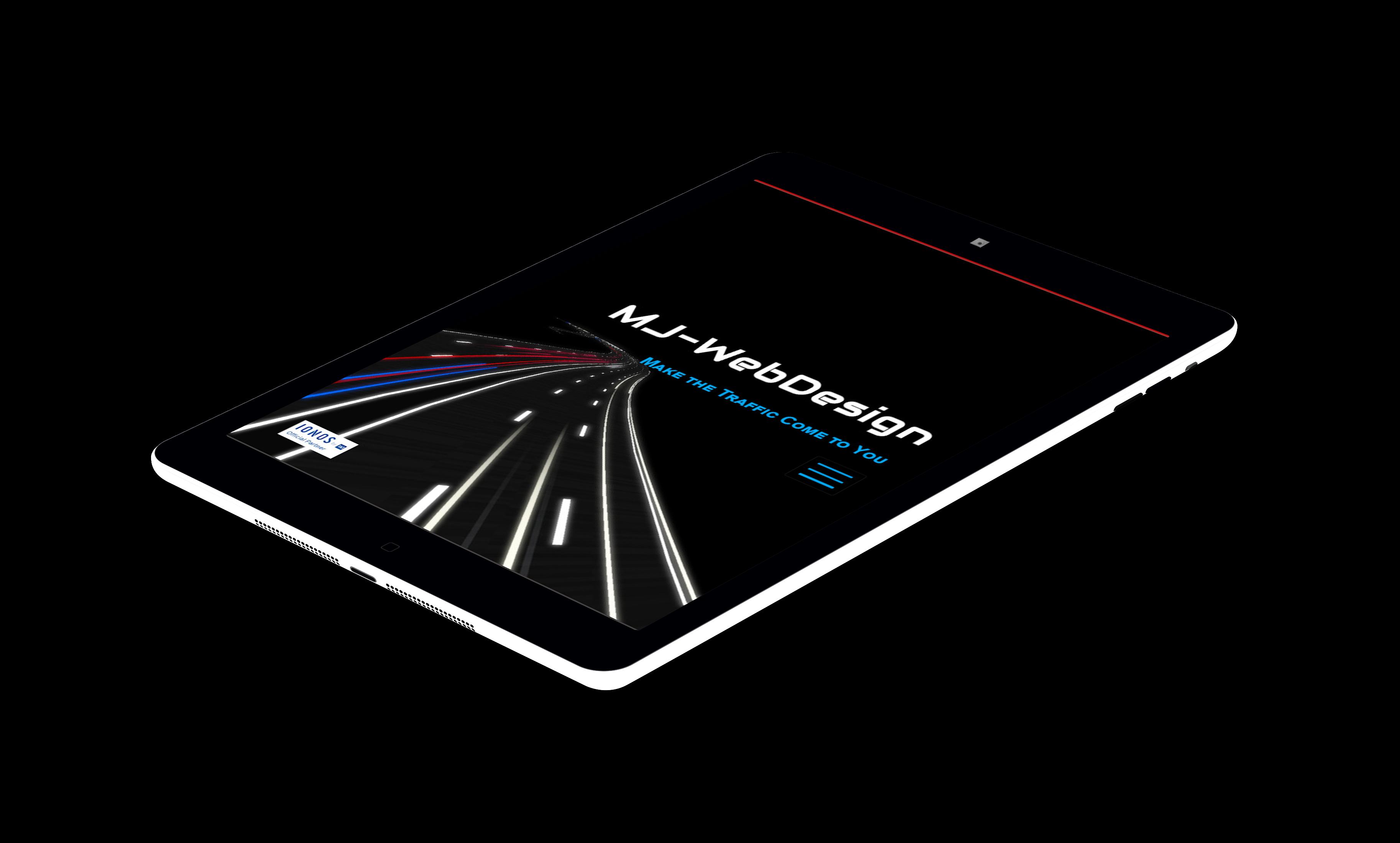 tablet friendly website design
