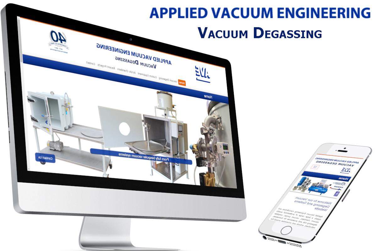 Vacuum-Degassing web design